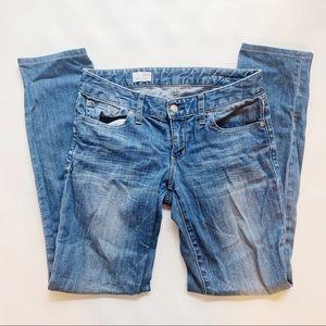 GAP Light/Medium Wash Always Skinny Jean 4/27